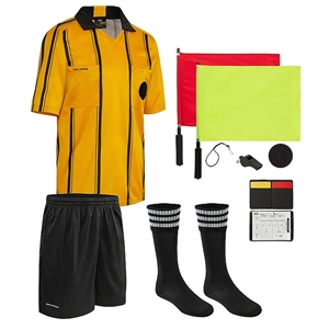 Final Decision 10 Piece Referee Kit (Yellow)
