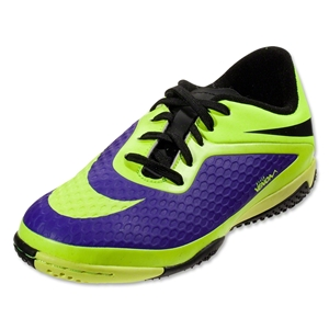 Nike Junior Hypervenom Phelon IC (Electro Purple/Volt/Black)
