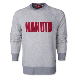 Manchester United LS Covert Crew Top