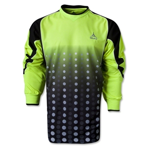 Select Sublimated Goalkeeper Jersey (Black/Lime)