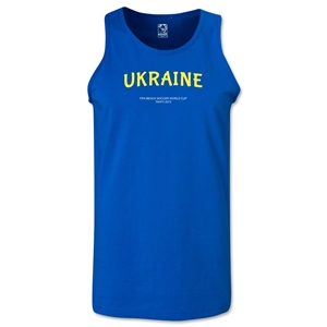 Ukraine FIFA Beach World Cup 2013 Tanktop (Royal)
