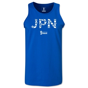 Japan 2014 FIFA World Cup Brazil(TM) Men's Elements Tank Top (Royal)