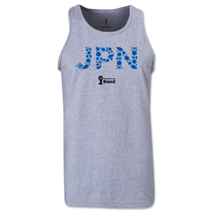 Japan 2014 FIFA World Cup Brazil(TM) Men's Elements Tank Top (Grey)