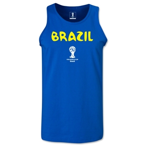 Brazil 2014 FIFA World Cup Brazil(TM) Men's Core Tank Top (Royal)