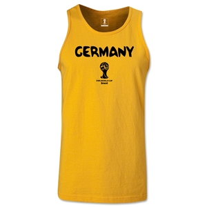 Germany 2014 FIFA World Cup Brazil(TM) Men's Core Tank Top (Gold)