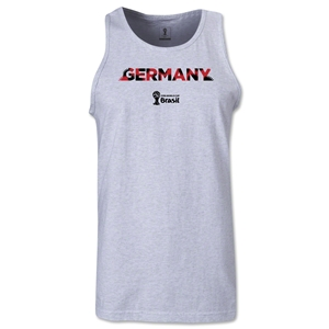 Germany 2014 FIFA World Cup Brazil(TM) Men's Palm Tank Top (Ash)