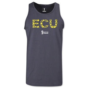 Ecuador 2014 FIFA World Cup Brazil(TM) Men's Elements Tank Top (Dark Grey)