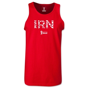 Iran 2014 FIFA World Cup Brazil(TM) Men's Elements Tank Top (Red)