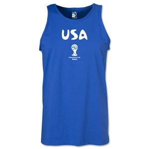 USA 2014 FIFA World Cup Brazil(TM) Men's Core Tank Top (Royal)