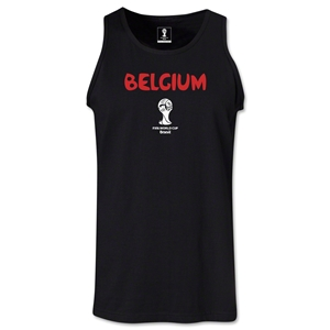 Belgium 2014 FIFA World Cup Brazil(TM) Men's Core Tank Top (Black)