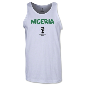 Nigeria 2014 FIFA World Cup Brazil(TM) Men's Core Tank Top (White)