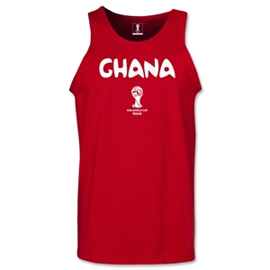 Ghana 2014 FIFA World Cup Brazil(TM) Men's Core Tank Top (Red)