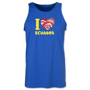 I Heart Ecuador 2014 FIFA World Cup Brazil(TM) Men's Tank Top (Royal)