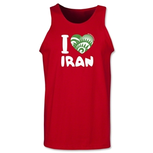 I Heart Iran 2014 FIFA World Cup Brazil(TM) Men's Tank Top (Red)
