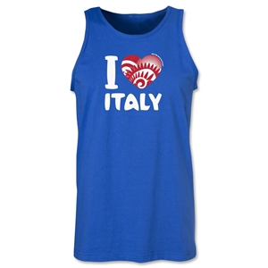I Heart Italy 2014 FIFA World Cup Brazil(TM) Men's Tank Top (Royal)