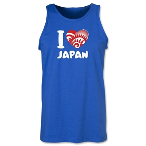 I Heart Japan 2014 FIFA World Cup Brazil(TM) Men's Tank Top (Royal)
