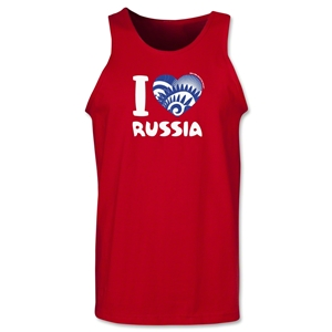 I Heart Russia 2014 FIFA World Cup Brazil(TM) Men's Tank Top (Red)