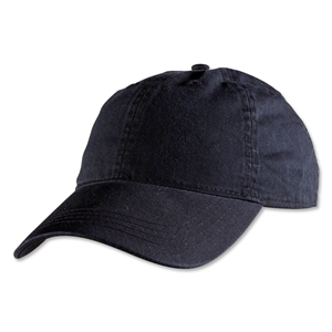 Unstructured Adjustable Cap (Black)