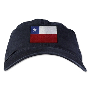 Chile Unstructured Adjustable Cap (Black)