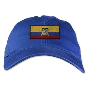 Ecuador Unstructured Adjustable Cap (Royal)