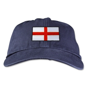 England Unstructured Adjustable Cap (Navy)
