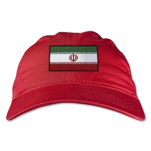 Iran Unstructured Adjustable Cap (Red)