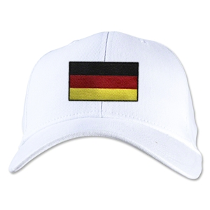 Germany Flexfit Cap (White)