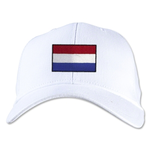 Netherlands Flexfit Cap (White)