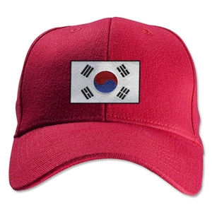 South Korea Flexfit Cap (Red)