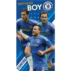 Chelsea Stadium Birthday Boy Card