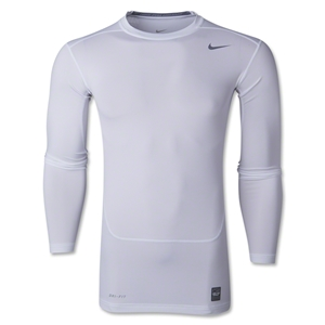 Nike Core 2.0 Compression Long Sleeve Top (White)