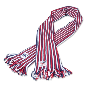 USA Rugby Striped Fan Scarf