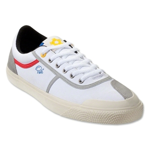 Pele Armador Canvas Leisure Shoe (White)