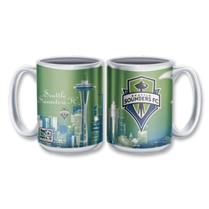 Seattle Sounders FC Ceramic Mug