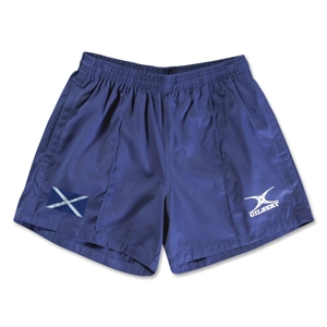 Scotland Flag Kiwi Pro Rugby Shorts (Navy)