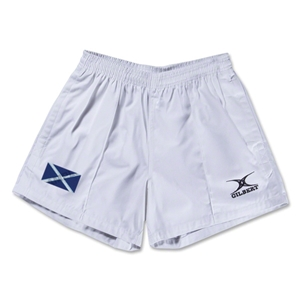 Scotland Flag Kiwi Pro Rugby Shorts (White)