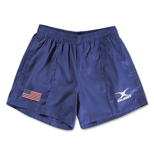 USA Flag Kiwi Pro Rugby Shorts (Navy)