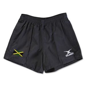 Jamaica Flag Kiwi Pro Rugby Shorts (Black)