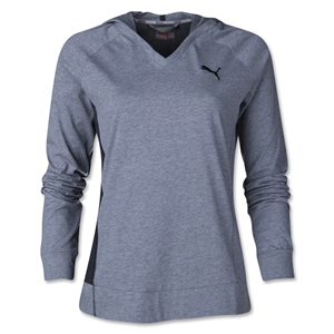 PUMA Women's Favorite Hooded Cover Up (Gray)