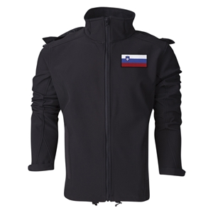 Slovenia Performance Softshell Jacket (Black)