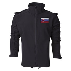 Slovakia Performance Softshell Jacket (Black)