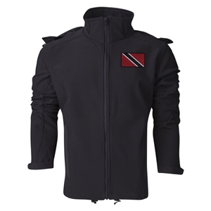 Trinidad & Tobago Performance Softshell Jacket (Black)