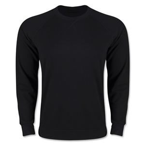 Long Sleeve Crewneck Fleece (Black)