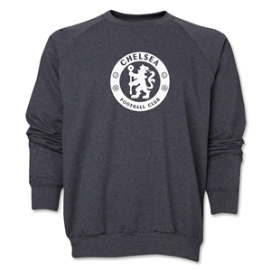 Chelsea Emblem Crewneck Fleece (Dark Gray)
