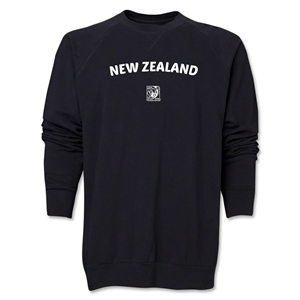 New Zealand FIFA U-17 Women's World Cup Costa Rica 2014 Core Crewneck Fleece (Black)