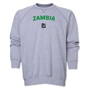 Zambia FIFA U-17 Women's World Cup Costa Rica 2014 Core Crewneck Fleece (Grey)
