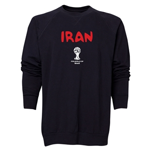 Iran 2014 FIFA World Cup Brazil(TM) Men's Core Crewneck Sweatshirt (Black)