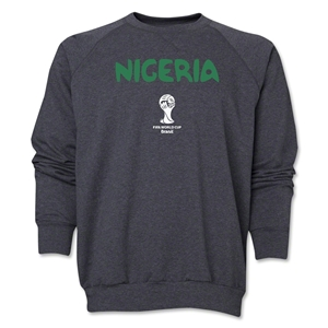 Nigeria 2014 FIFA World Cup Brazil(TM) Core Crewneck Fleece (Dark Grey)