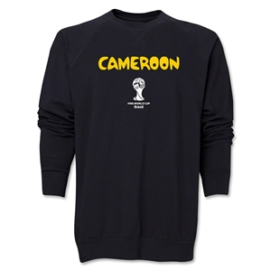 Cameroon 2014 FIFA World Cup Brazil(TM) Core Crewneck Fleece (Black)