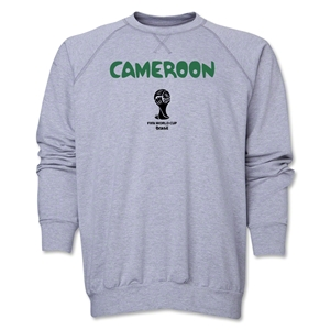 Cameroon 2014 FIFA World Cup Brazil(TM) Core Crewneck Fleece (Grey)